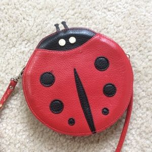 Ladybug Crossbody Purse For Nine
